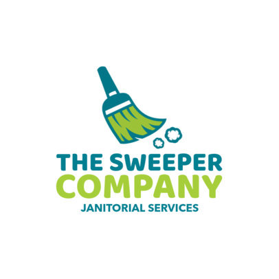 Janitorial Services Logo Maker a1173