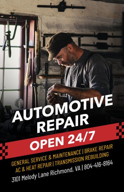 Auto Repair Flyer Maker a273