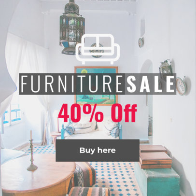 Online Banner Maker for Furniture Ads a270