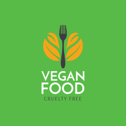 Logo Maker Vegan Restaurant