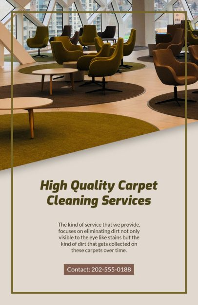 Carpet Cleaning Flyer Maker 295