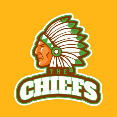 Sports Logo Maker with Native American Graphics a29e