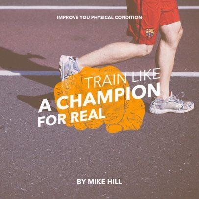 Training Book Cover Maker 418a