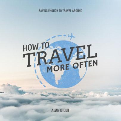 Travel Book Cover Maker 418d