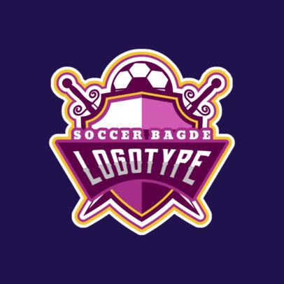 placeit soccer logo maker