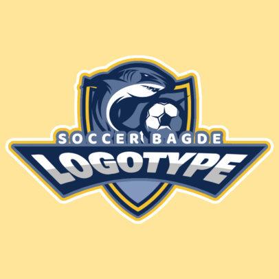 Soccer Mascot Sports Logo Maker 196c