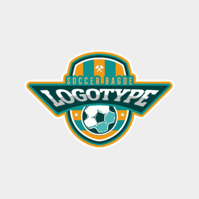 Sports Logo Maker for Soccer Logotypes 196e