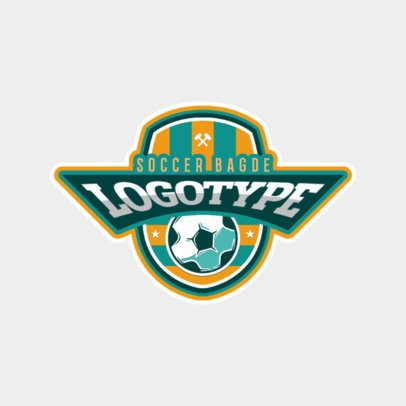 Sports Logo Maker for Soccer Logotypes 196e
