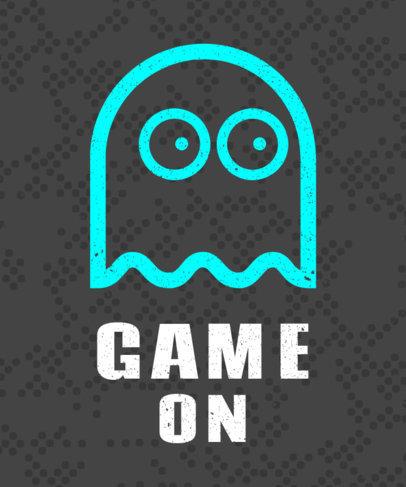 Ghost Geek Tshirt Template 28c