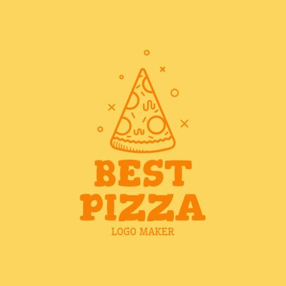 Restaurant Logo Maker with Pizza Clipart 989d