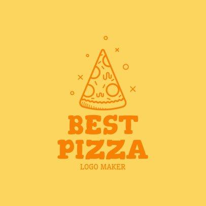Restaurant Logo Maker with Pizza Clipart 989d