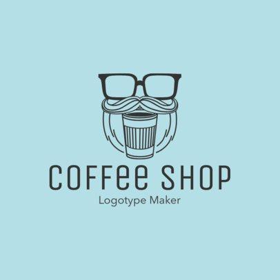 Hipster Coffee Logo Maker 956b