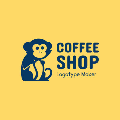 Coffee Shop Logo Maker with Funny Graphics 956c