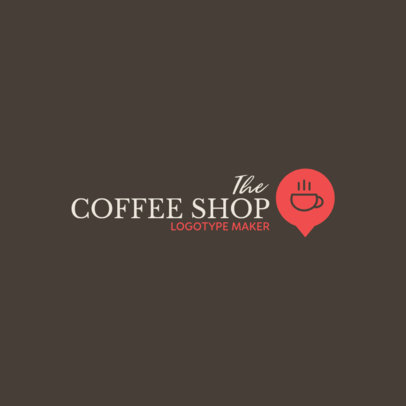 Coffee Shop Logo Maker Elegant Graphics 956e