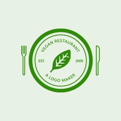 Vegetarian Logo Maker with Custom Badges 990f