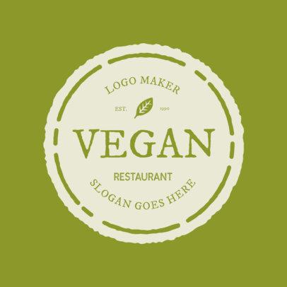 Vegan Logo Maker 991c