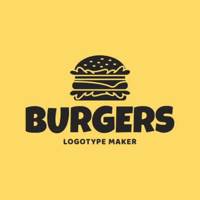 Burger Joint Logo Maker 1012a