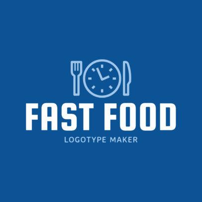Fast Food Restaurant Logo Template 1012b