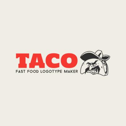 Online Logo Maker for Taco Restaurants 1012d