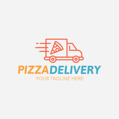 Pizza Delivery Logo Maker