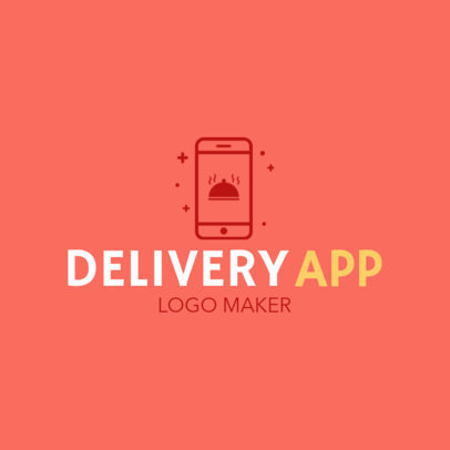 Delivery App Logo Maker 1030e