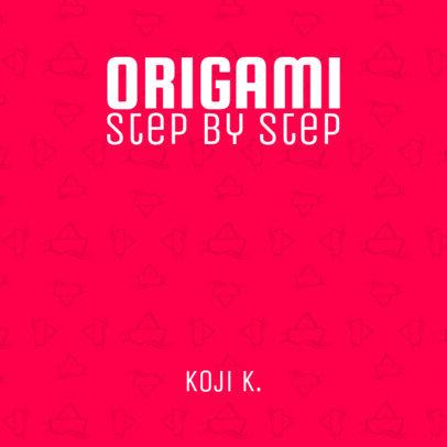 Origami Book Cover Maker 403c