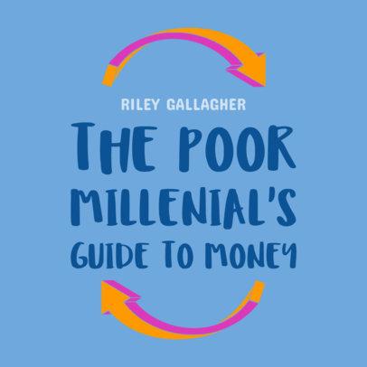 Book Cover Template for Financial Books 510e