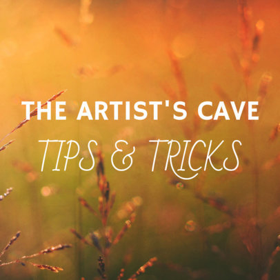 Artist Tips Social Media Images Maker 564e