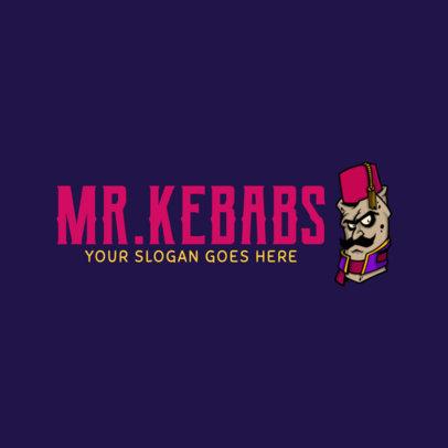 Kebabs Logo Maker 1029e