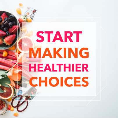 Healthy Lifestyle Social Media Images 582f