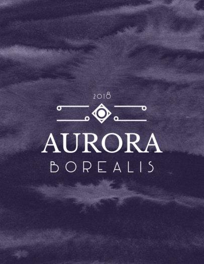 T-Shirt Design Templates with Art Deco Fonts Inspiration 10b