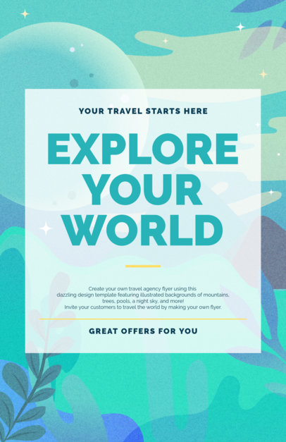 placeit family vacation online flyer maker
