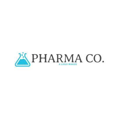 Pharmacy Logo Maker with Pharmacist Symbols 1025d