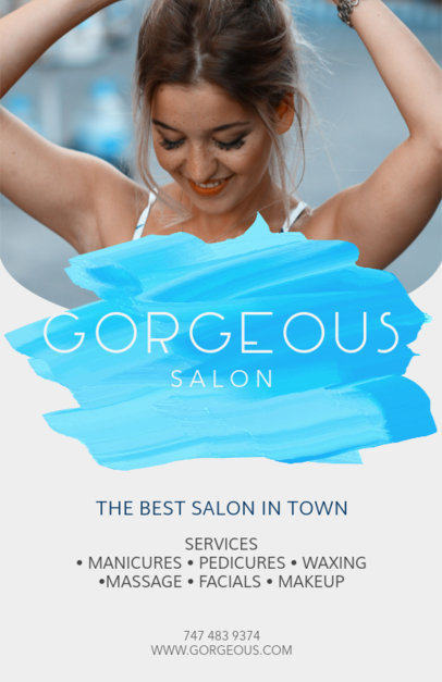 Online Flyer Maker for Hair Salons 88a