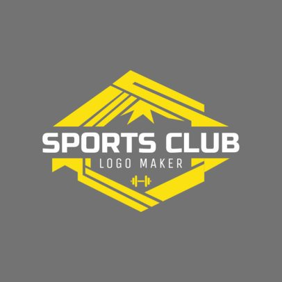 Sports Logo Maker for Health Clubs 1086e