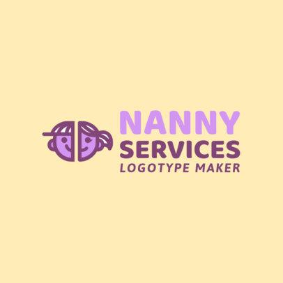 Babysitting Logo Maker 1094a