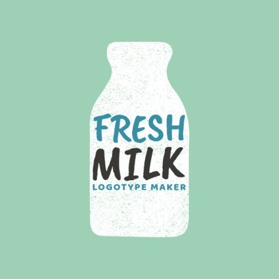 Logo Maker for Organic Milk Brands 1125a