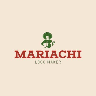 Mariachi Logo Maker 1136c