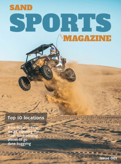 Buggy Car Magazine Cover Creator 56e