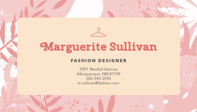 Business Card Maker for Stylists 138b-1819