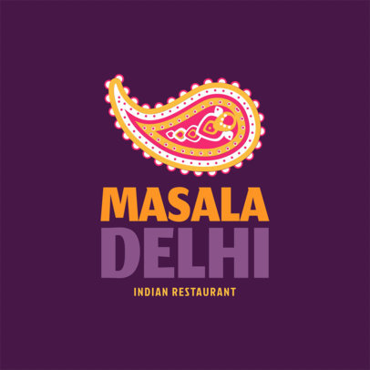 Restaurant Logo Maker for Indian Restaurants a1221