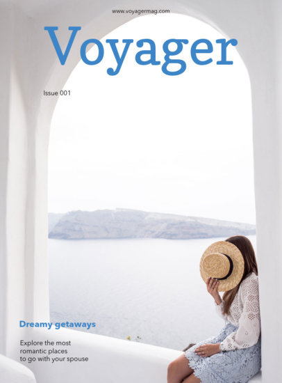 Leisure Travel Magazine Cover Maker 48d