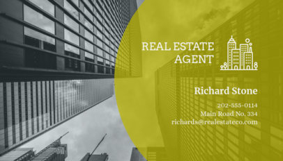 Real Estate Agent Business Card Maker 59b