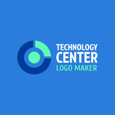 Tech Company Logo Template 1141d