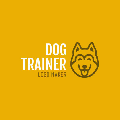 Online Logo Maker for Dog Trainers 1147d