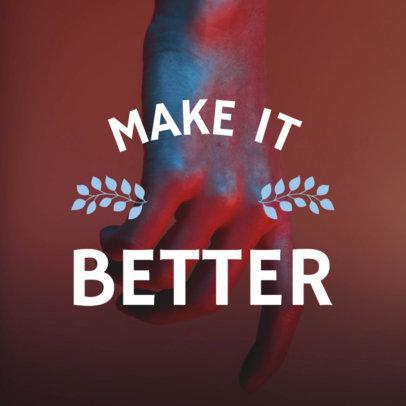 Social Media Image Maker for Positive Quotes 566e
