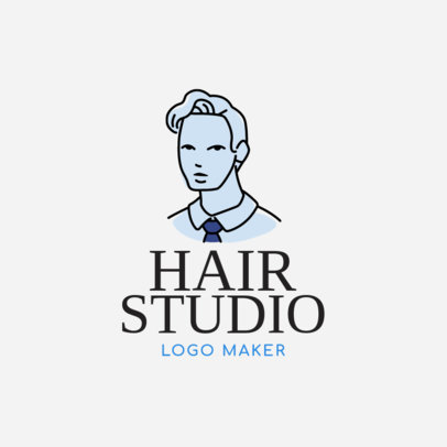 Logo Maker for Men's Hair Stylists 1162b