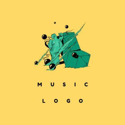 Band Logo Maker with Alternative Art 1095d