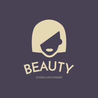 Minimalist Logo Design for Hair Stylists 1153c