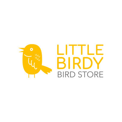 Online Logo Maker for a Bird Store 1191c